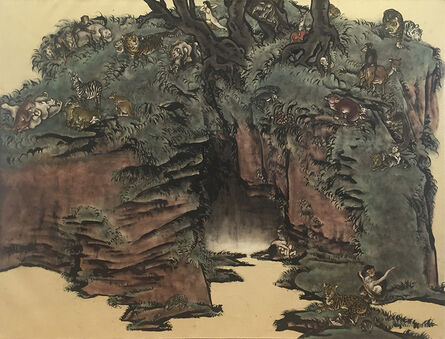 Yang Jiechang 杨诘苍, 'Stranger Than Paradise-Red Grotto', 2009