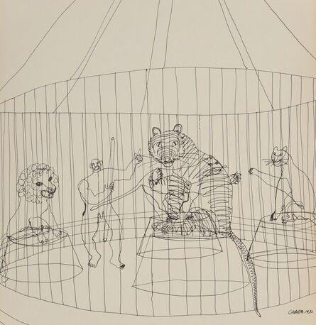 Alexander Calder, 'Calder's Circus', 1964