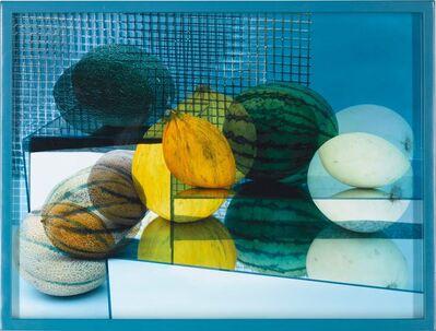 Elad Lassry, 'CIRCLES AND SQUARES (A TASTEFUL ORGANIC MELONS ARRANGEMENT) 1', 2007