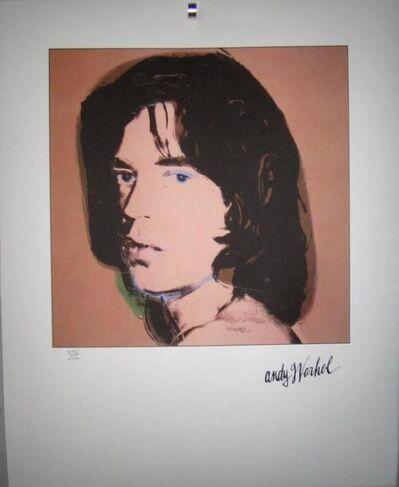 Andy Warhol, 'Portrait, Mick Jagger, green 1969', ca. 1969