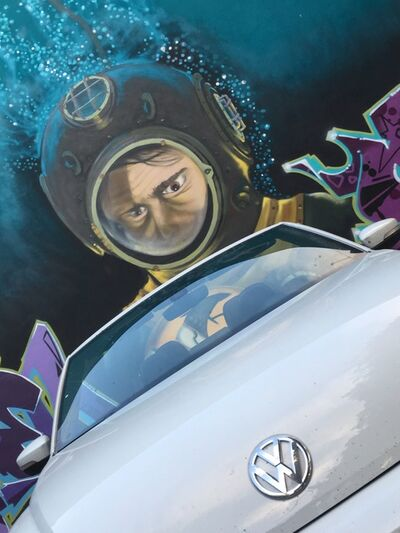 Debranne Cingari, 'Deep Sea VW', 2017