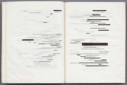 Marcel Broodthaers, 'Un Coup de dés jamais n'abolira le hasard (A throw of the dice will never abolish chance)', 1969