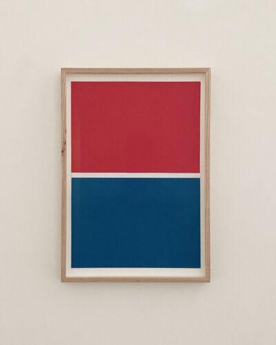 JES, 'BLUE, WHITE, RED', 2020