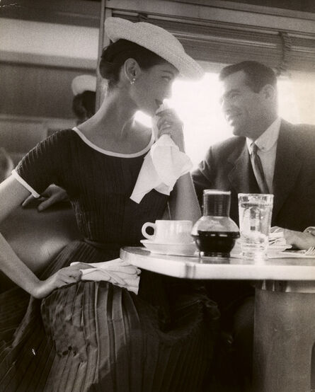 Lillian Bassman, 'Tea With Carmen', ca. 1950