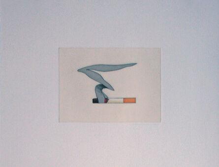 Tom Wesselmann, 'Smoking Cigarette #1', 1991