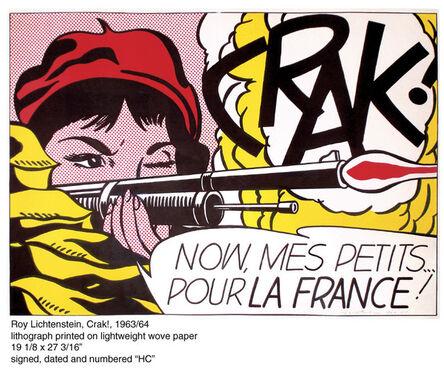 Roy Lichtenstein, 'CRAK!', 1963-1964