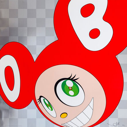 Takashi Murakami, 'And then and then and then and then and then (Red)', 1999