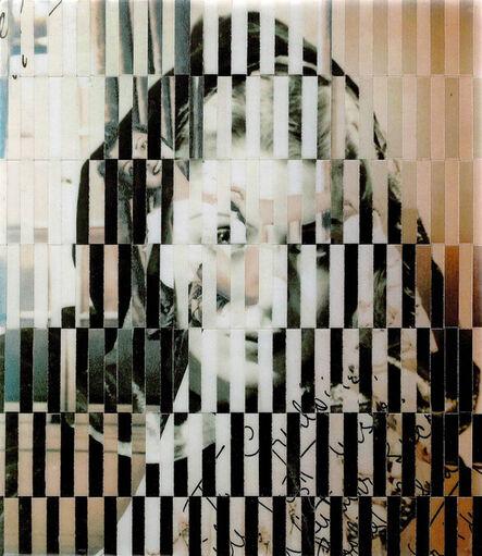 Samin Ahmadzadeh, '10,000 Faces VIII', 2017