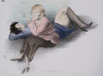 Raphael Soyer, 'CONVERSATION', 1931