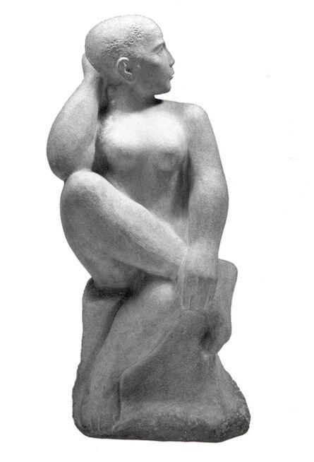 William Zorach, 'Seated Dancer', 1950