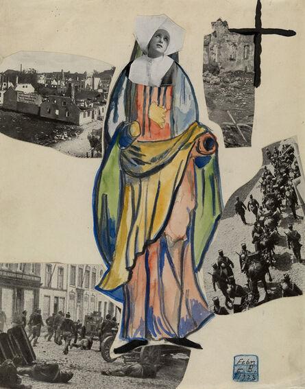 Erwin Blumenfeld, 'Madonna of War (Nun)', 1923