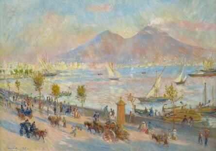 Pierre-Auguste Renoir, 'Bay of Naples, Evening', 1881