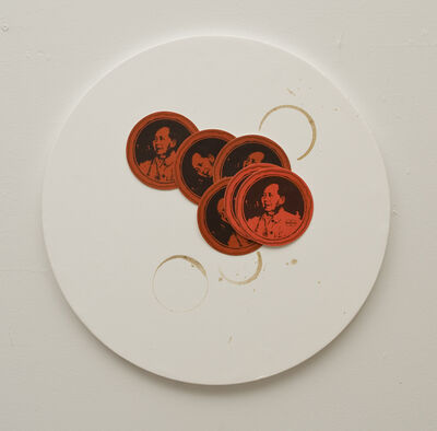 Liliana Porter, 'Untitled (with coasters)', 2011