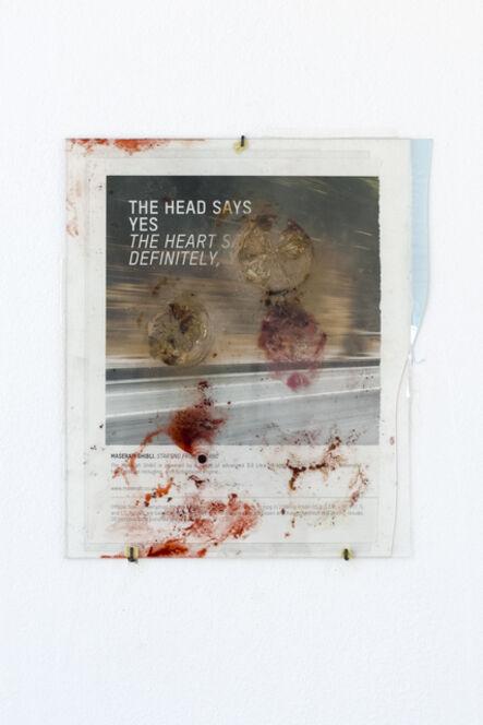 Nanna Abell, 'The head says, the heart says ', 2018
