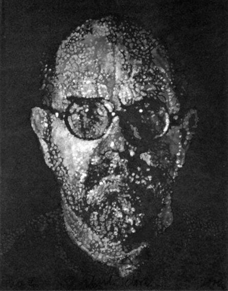 Chuck Close, 'Self Portrait / Pulp / Pochoir', 2000