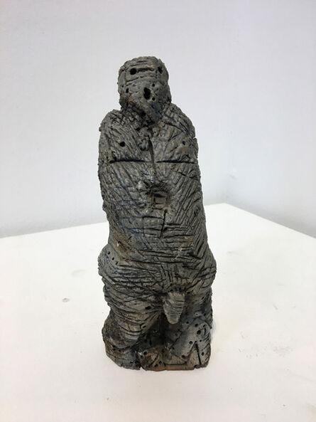 Lee Mullican, 'Untitled (Male Fetish Figure)', 1994