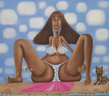 Steve Canaday, 'Kelly on the Beach', 2010