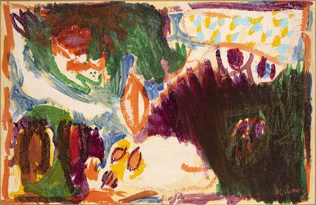 Pierre Alechinsky, 'Petite flamme', 1970