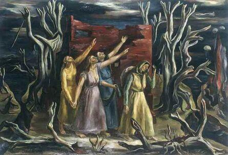 Raquel Forner, 'Tinieblas', 1943