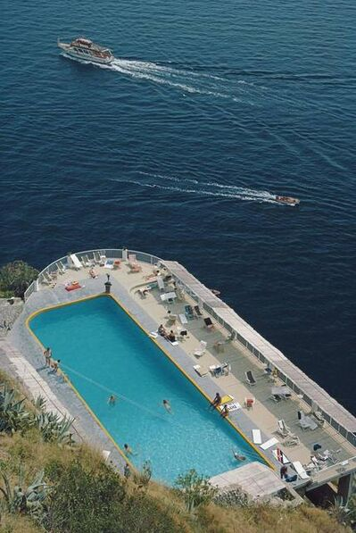 Slim Aarons, 'Belvedere Pool, Amalfi, Italy', 1984