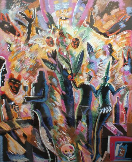 Carlos Almaraz, 'Tree of Life', 1989