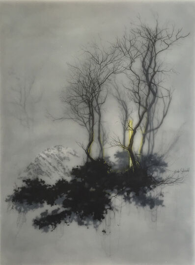 Brooks Salzwedel, 'Neon Thing In Trees', 2015