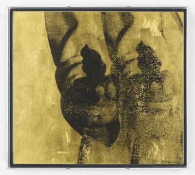 Gavin Turk, 'Double Gold Pop Gun on Linen', 2013