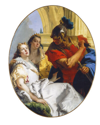 Giambattista Tiepolo, 'Scene from Ancient History', ca. 1750