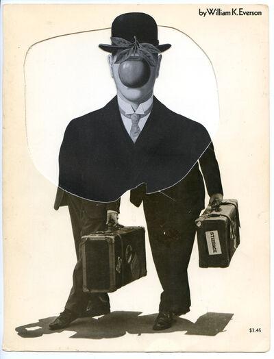 Hank Schmidt in der Beek, 'Collage Nr. 150 (Dick und Doof/Magritte)', 2009