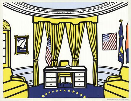 Roy Lichtenstein, 'The Oval Office', 1997