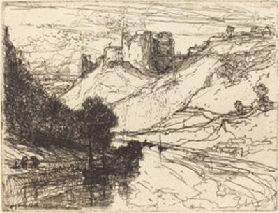 Francis Seymour Haden, 'Kilgaren Castle', 1864