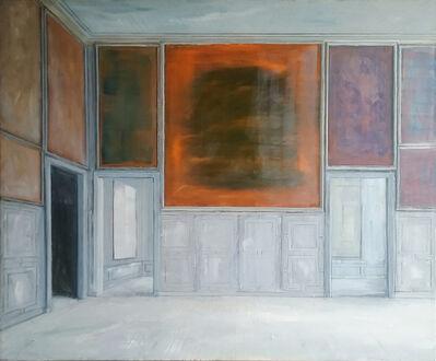 Pierre Bergian, 'Grey Panelling', 2018
