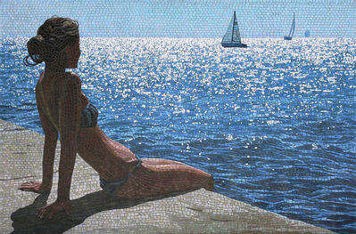Anatoly Gankevich, 'Girl on the Pier', 2008
