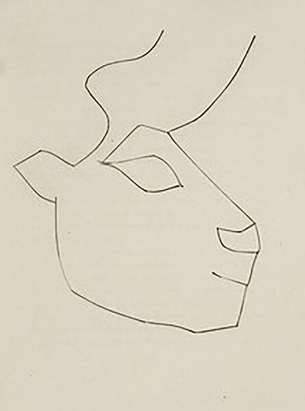 Pablo Picasso, 'Head of a Calf (Plate XXXVI)', 1949