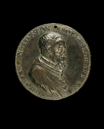 Leone Leoni, 'Michelangelo Buonarroti, 1475-1564, Florentine Artist [obverse]', ca. 1561