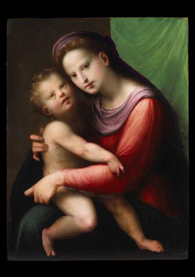 Domenico di Bartolomeo Ubaldini known as Il Puligo, 'Madonna and Child', ca. 1525