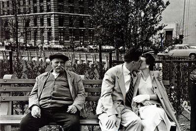 Frank Paulin, 'Battery Park bench, New York City', 1955