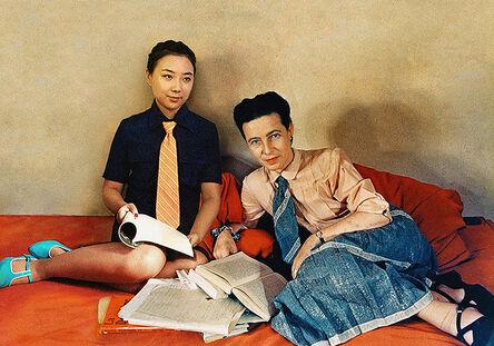 Silin Liu 刘思麟, 'Simone de Beauvoir & Celine Liu II ', 2014