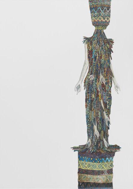 Helen Feifel, 'Entwurf für ein Cocktailkleid 2', 2016