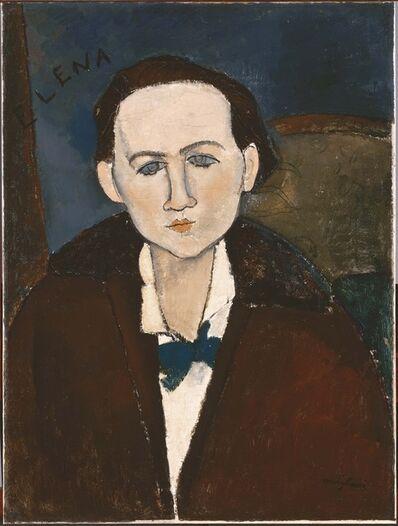 Amedeo Modigliani, 'Elena Povolozky', 1917