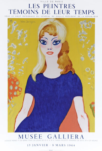 Kees van Dongen, 'Les Peintres Témoins de Leur Temps', 1964