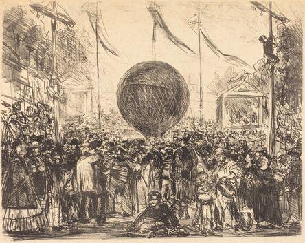 Édouard Manet, 'The Balloon', 1862