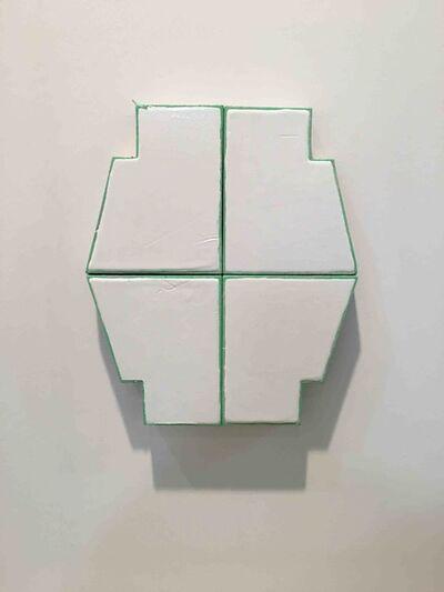 Finbar Ward, 'FOUR PART POLYGON (FLAT)', 2016
