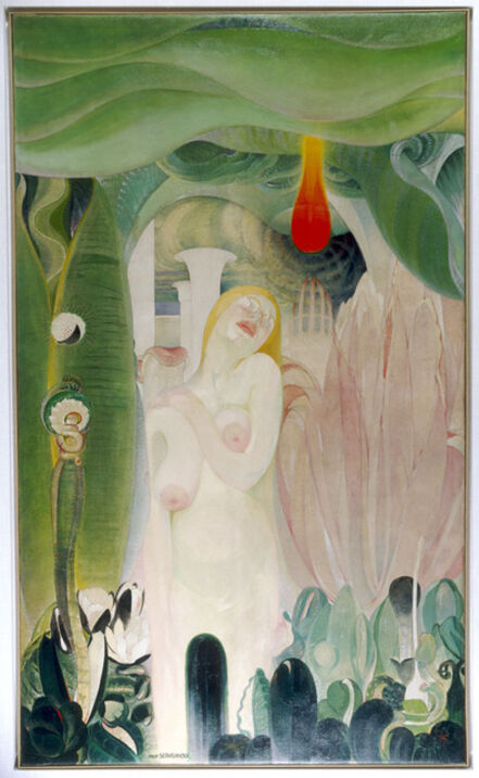 Victor Servranckx, 'Opus 10 - 1917 (Die Kräfte des Lebens - Les puissances de la vie)', 1917