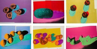 Andy Warhol, ' Space Fruit Full Suite (FS II.197-203)', 1979