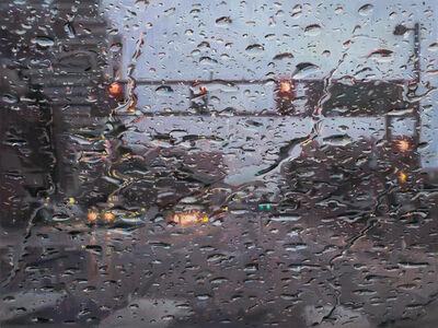 Dianne L. Massey Dunbar, 'Rain on Windshield', 2015