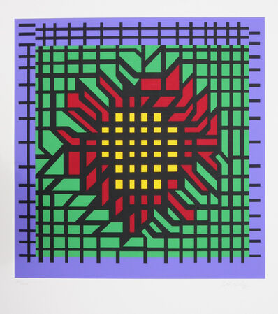 Victor Vasarely, 'Abstract Composition', 1980