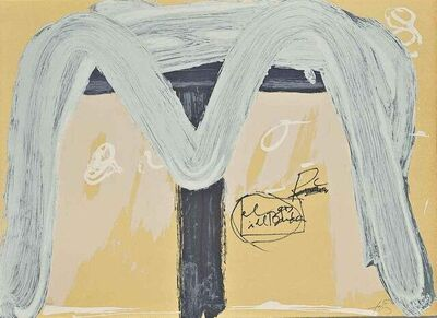 Antoni Tàpies, 'Berlin Suite', 1974