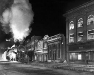 O. Winston Link, 'NW1966 Main Line on Main Street, Northfork, West Virginia', 1958