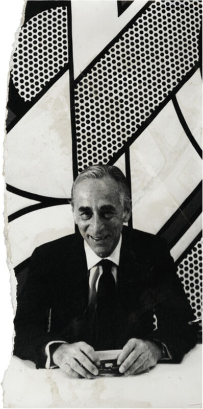 David Bailey, 'Uncharted – Leo Castelli', 1972